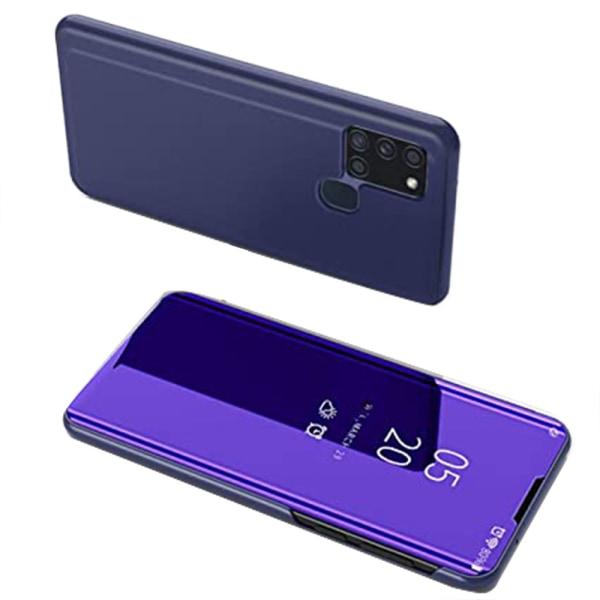 Praktiskt Fodral - Samsung Galaxy A21S Lilablå