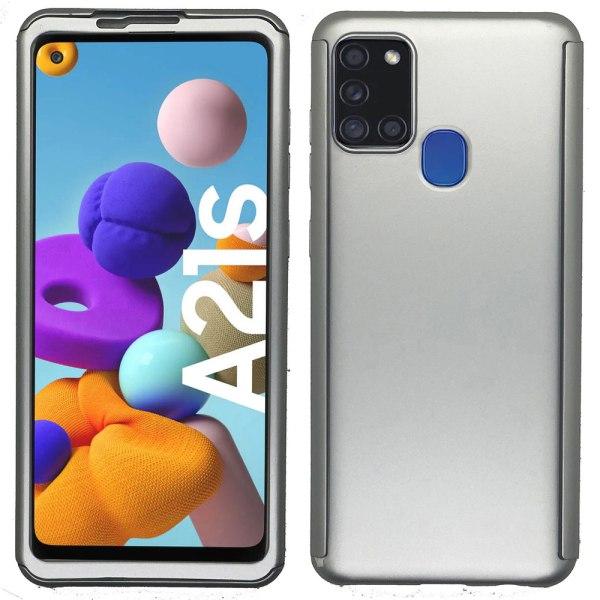 Samsung Galaxy A21S - Dubbelskal Blå