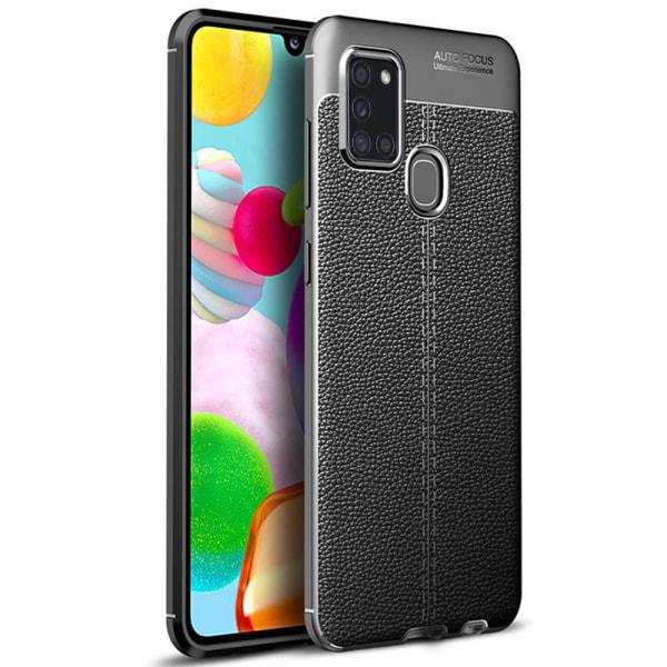 Genomtänkt Skyddsskal - Samsung Galaxy A21S Röd