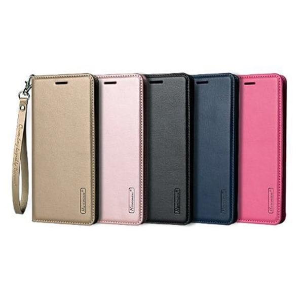Elegant Praktiskt Plånboksfodral Hanman - Samsung Galaxy A40 Rosa
