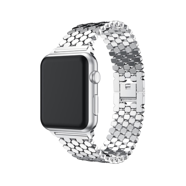 LEMAN Stållänk till Apple Watch 42mm (3/2/1) Guld