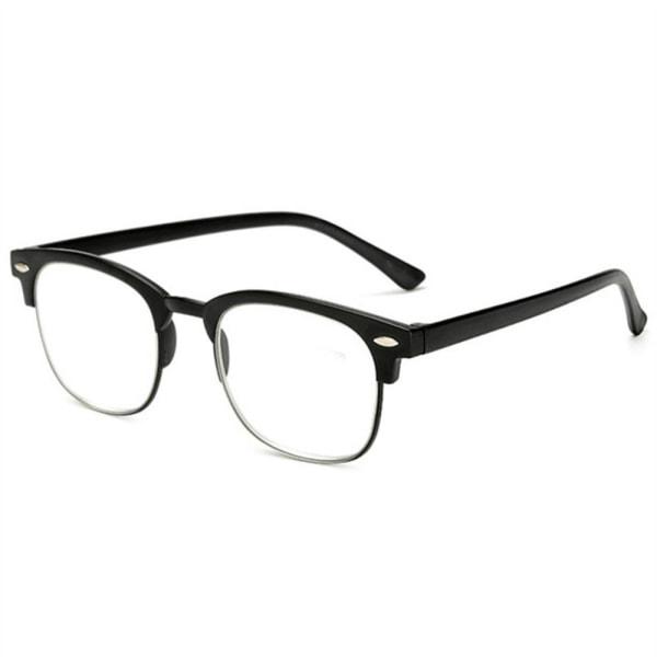 Effektfulla Smidiga Läsglasögon med Styrka +1.0-+4.0 Brun +3.0
