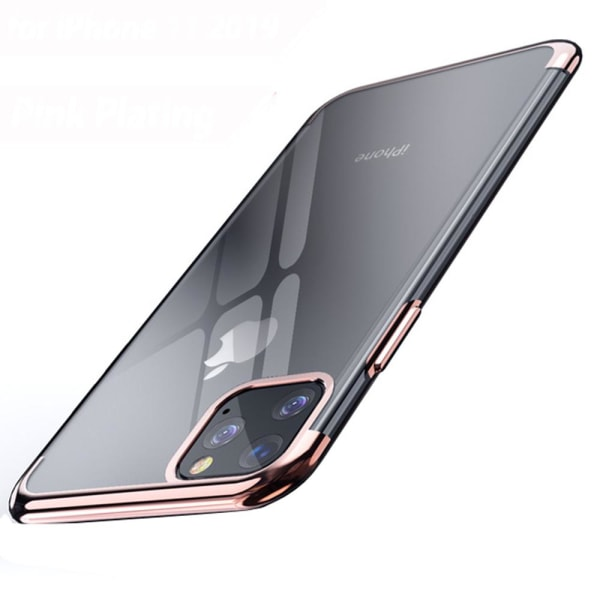 Elegant Smart Silikonskal - iPhone 11 Pro Max Silver