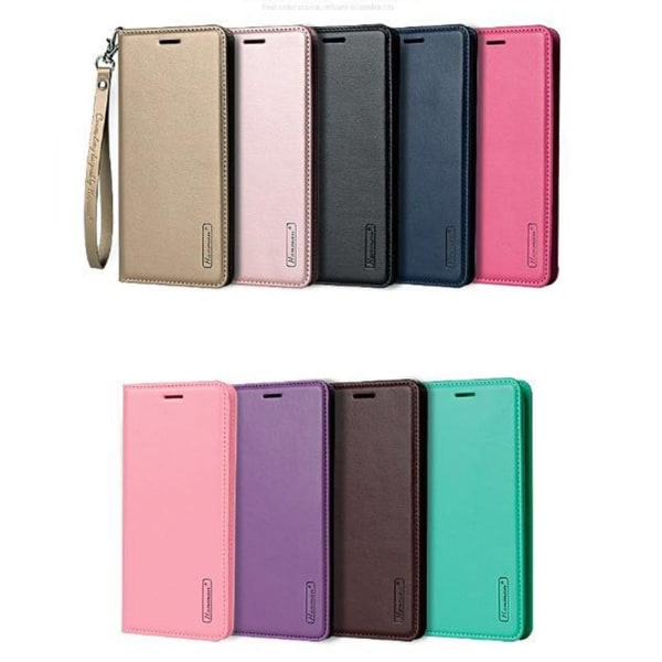Hanman Plånboksfodral till Samsung Galaxy S10 Plus Guld