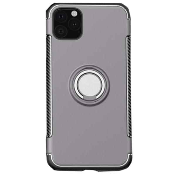 Skal med Ringhållare - iPhone 11 Guld