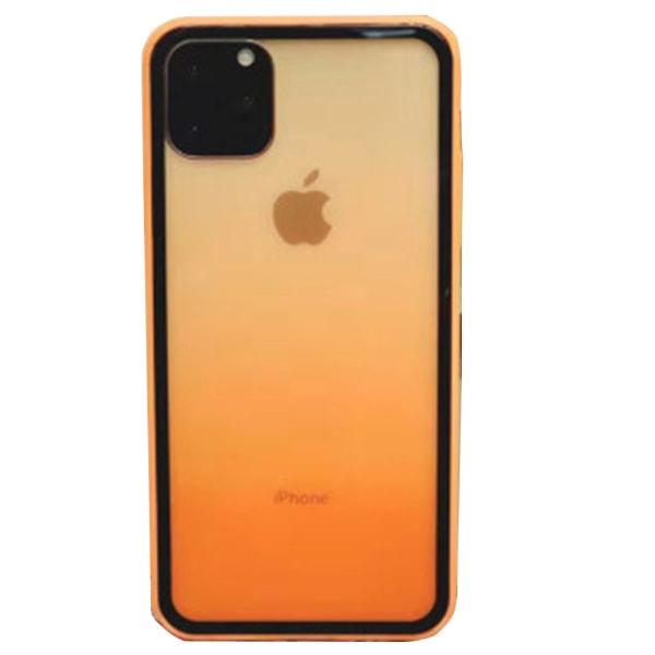 Professionellt Floveme Fade Silikonskal - iPhone 11 Grön