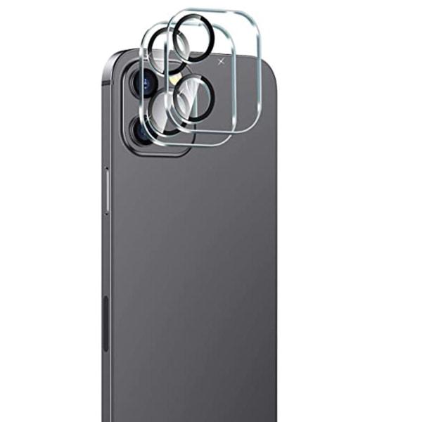 iPhone 12 2.5D Högkvalitativt Ultratunt Kameralinsskydd Transparent/Genomskinlig