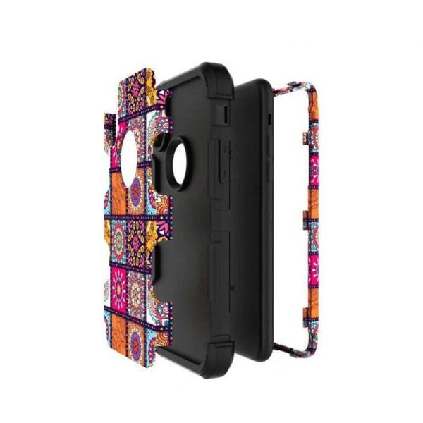 iPhone X/XS - Elegant Fodral med Maximalt Skydd Rosa Rosa