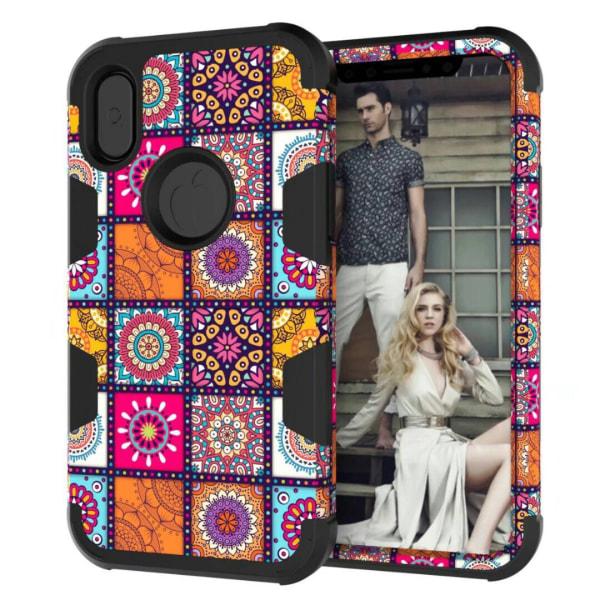 iPhone X/XS - Elegant Fodral med Maximalt Skydd Svart Svart