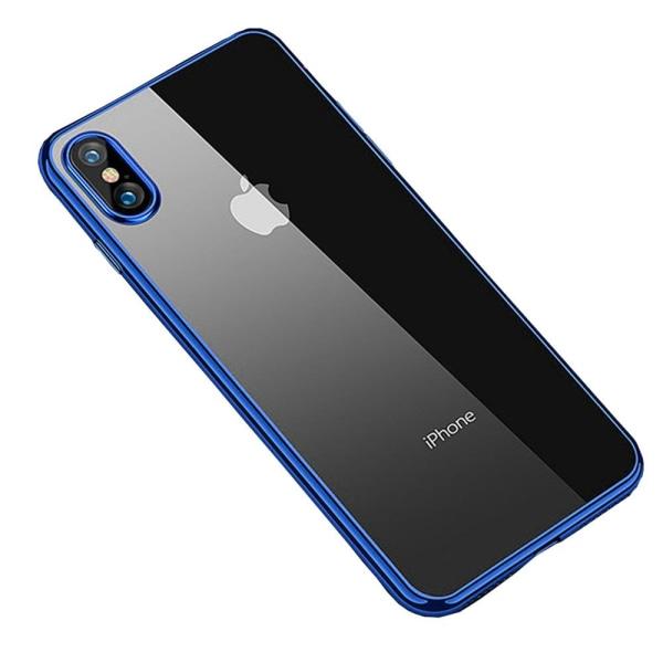 iPhone XS Max - Skyddsskal från LEMAN Svart