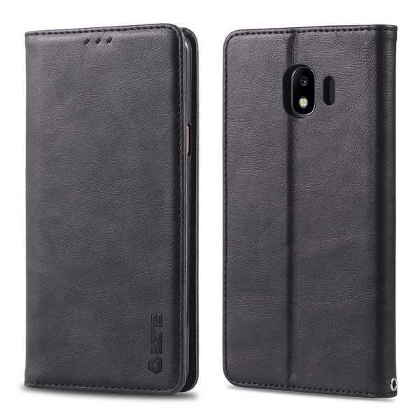 Stilrent Praktiskt Plånboksfodral - Samsung Galaxy J4 Ljusbrun