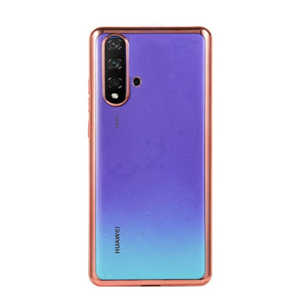 Elegant Skyddande Silikonskal - Huawei Nova 5T Röd