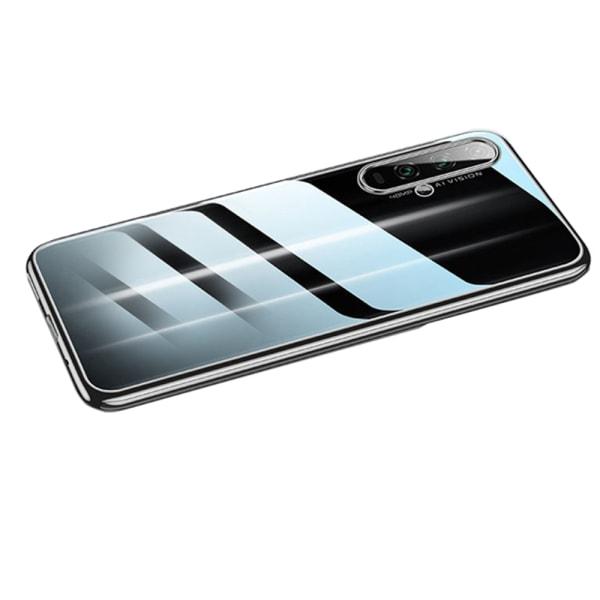 Elegant Skyddande Silikonskal - Huawei Nova 5T Blå