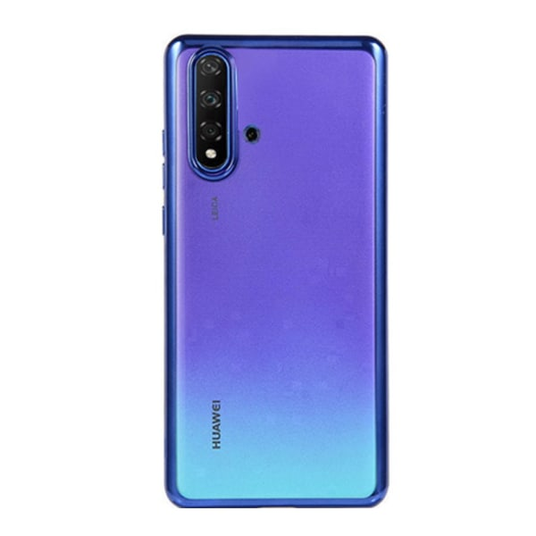 Elegant Skyddande Silikonskal - Huawei Nova 5T Svart