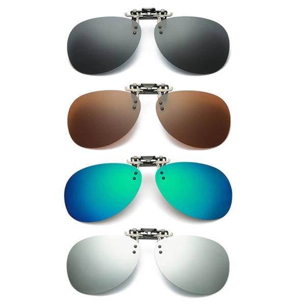 Praktiska Solglasögon Överdrag Svart