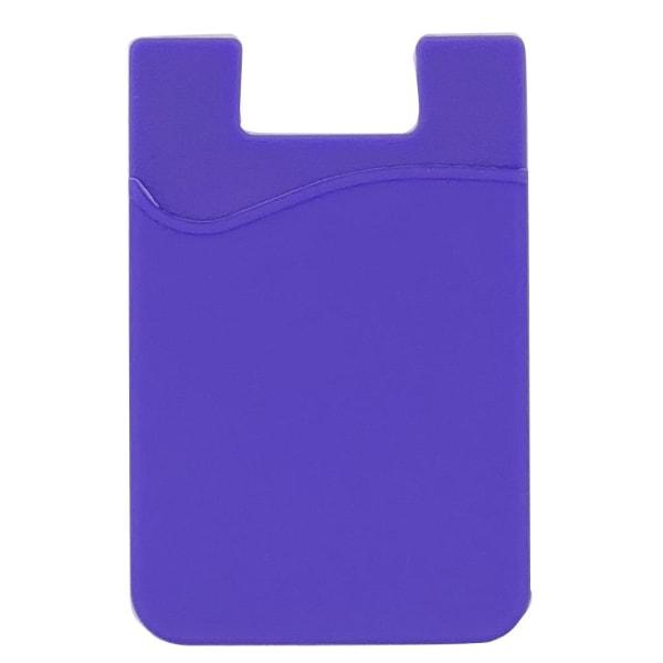 Praktiskt Självhäftande Korthållare för Mobiltelefoner Lila
