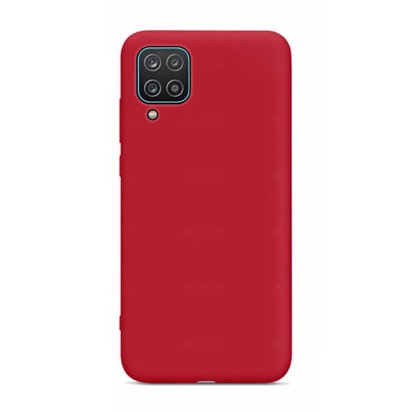 Samsung Galaxy A42 - Stilsäkert Skyddsskal (LEMAN) Röd