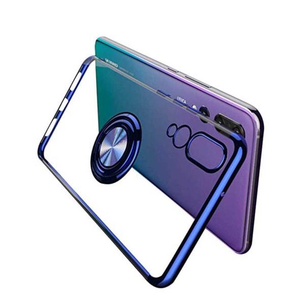Skal med Ringhållare - Huawei P20 Pro Svart