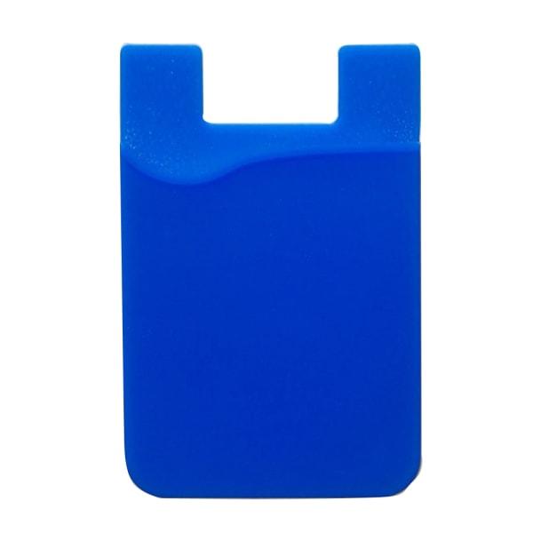 Praktiskt Självhäftande Korthållare för Mobiltelefoner Blå