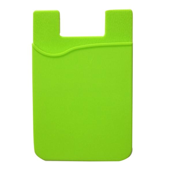 Praktiskt Självhäftande Korthållare för Mobiltelefoner Grön