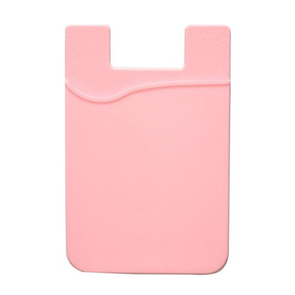 Praktiskt Självhäftande Korthållare för Mobiltelefoner Ljusrosa