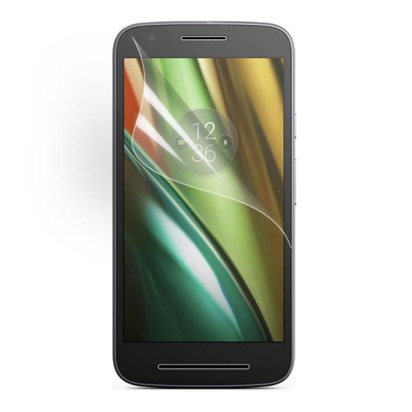 2st Skärmskydd till Motorola Moto E3 Transparent