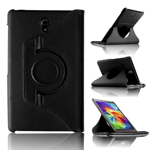 "360° Rotation fodral Samsung Tab S 8.4"" Mörkblå"