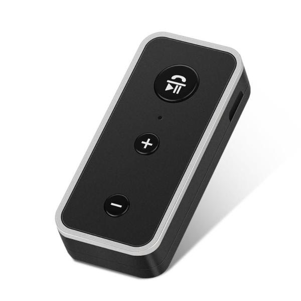 A2DP Bluetooth 5.0 AUX Audio Music Receiver Adapter Black