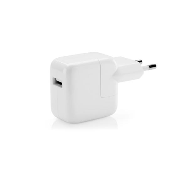 Apple iPad 12W USB Strömadapter MD836ZM/A Original Bulk Vit