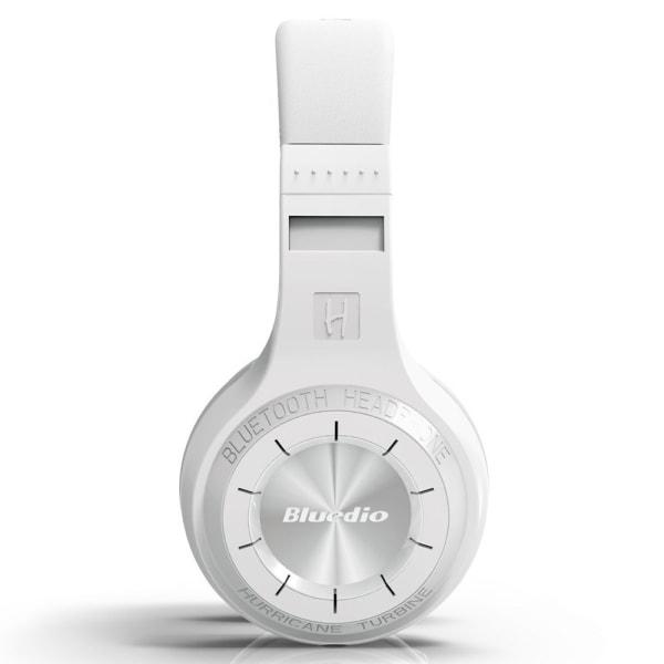 Bluedio HT Turbine Trådlös Bluetooth Stereo hörlurar - Vit Vit
