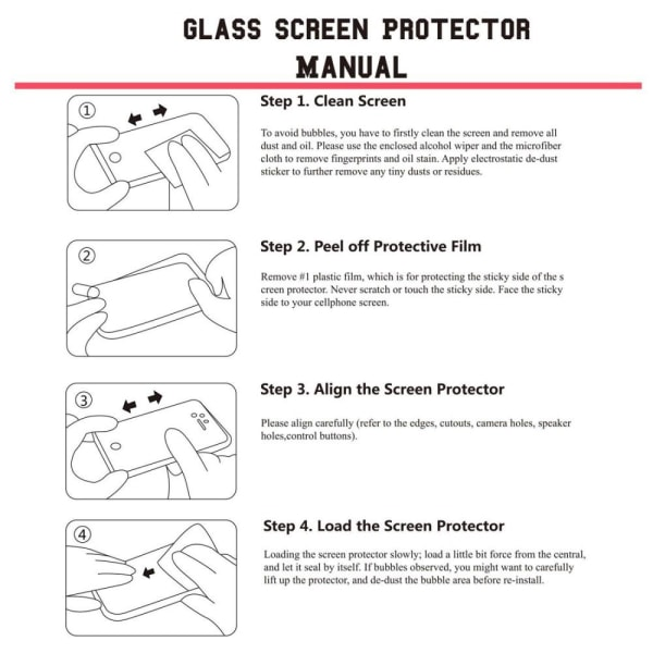 ENKAY Xiaomi Redmi Note 9 Härdat glas 0.26mm Transparent