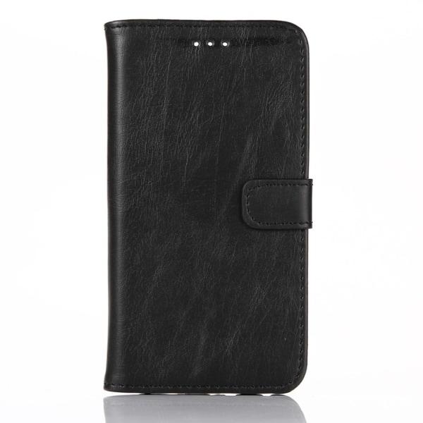HTC ONE A9 Retro Plånboksfodral Svart