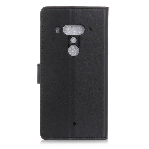 HTC U12+ Plånboksfodral -  SVART Svart