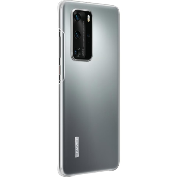 Huawei P40 Pro Clear Case Original - Transparent Transparent