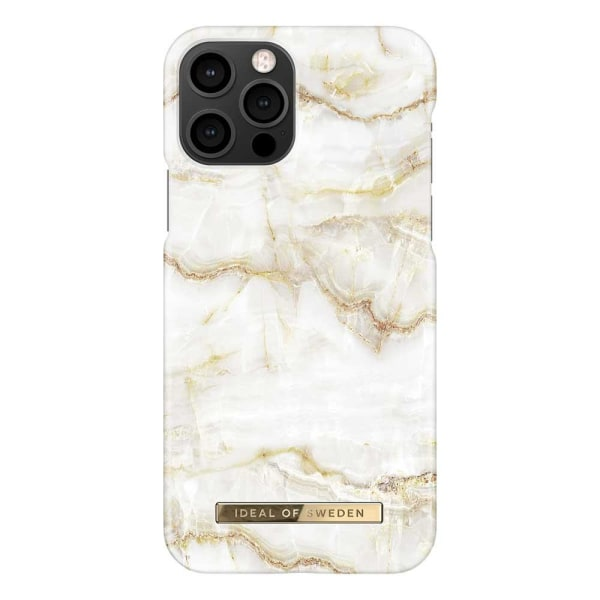 iDeal Of Sweden iPhone 12 / iPhone 12 Pro skal - Golden Pearl Ma Guld