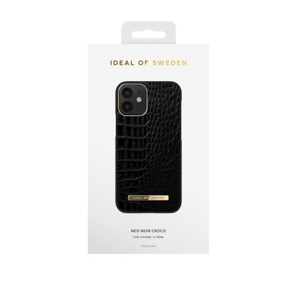 iDeal Of Sweden iPhone 12 Mini skal - Nightfall Croco Svart