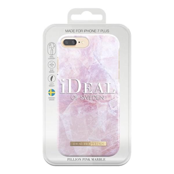 iDeal Of Sweden iPhone 8/7/6 Plus Marmor skal - Pilion Pink Rosa
