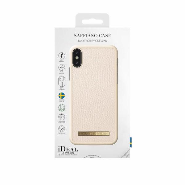 iDeal Of Sweden iPhone X/XS Saffiano Skal - Beige Beige