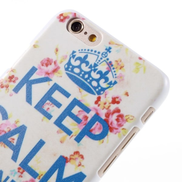 Iphone 6 / 6s Skal Keep Calm And Smile On