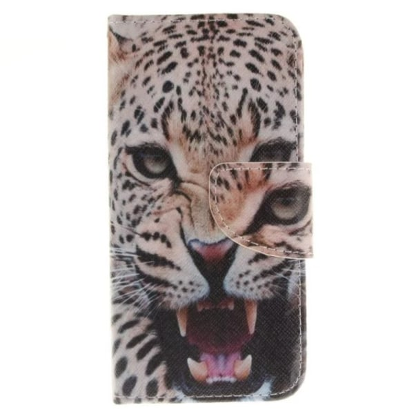 iPhone 7 / iPhone 8 Plånboksfodral Fierce Leopard multifärg