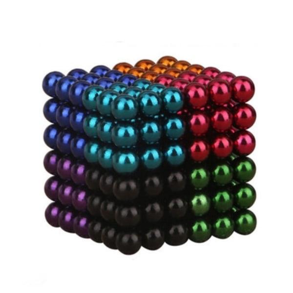 Magnetiska bollar att bygga och lära med - Färgade multifärg