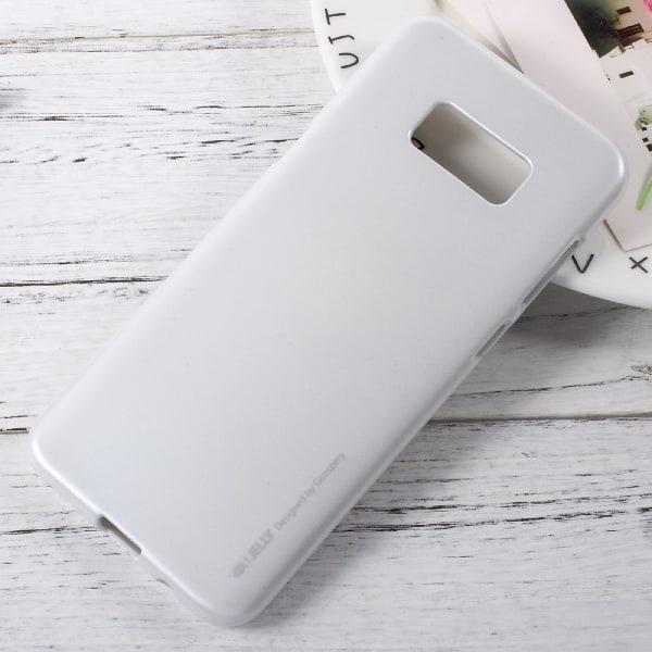 Mercury GOOSPERY Jelly TPU Skal Samsung Galaxy S8 - Vit