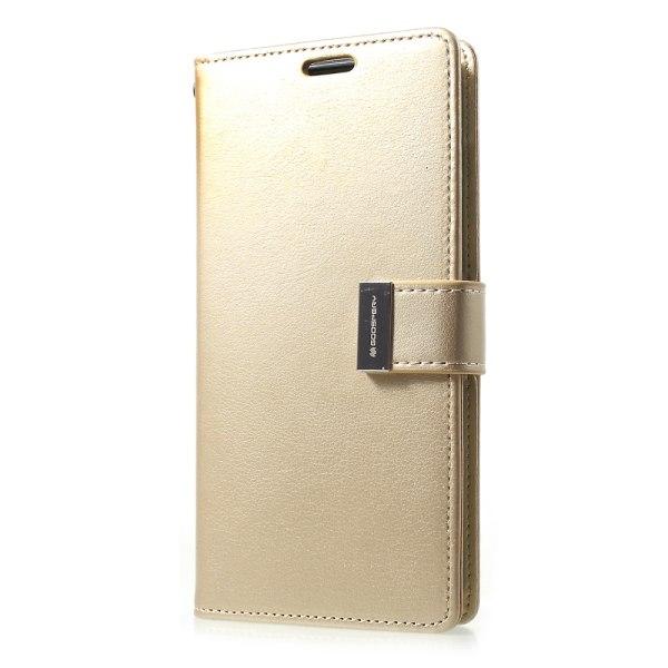 Mercury GOOSPERY Rich Diary till Samsung Galaxy S10+ - Guld Guld