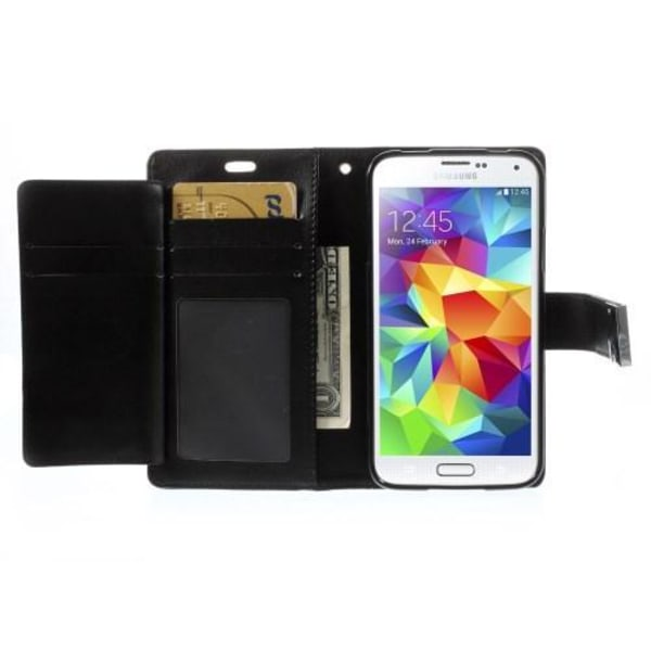 Mercury GOOSPERY Rich Diary till Samsung Galaxy S5 Svart