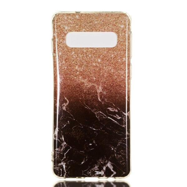 MTK Samsung Galaxy S10 TPU Marmor - Style B multifärg