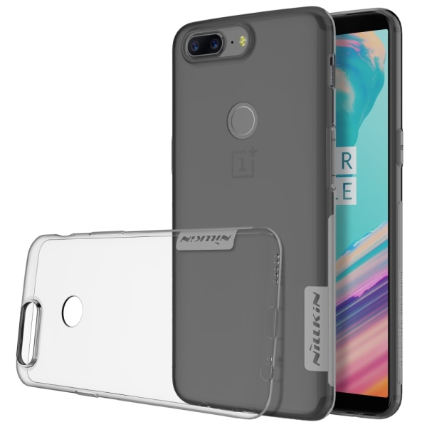 NILLKIN OnePlus 5T Nature Series 0.6mm TPU - Grå