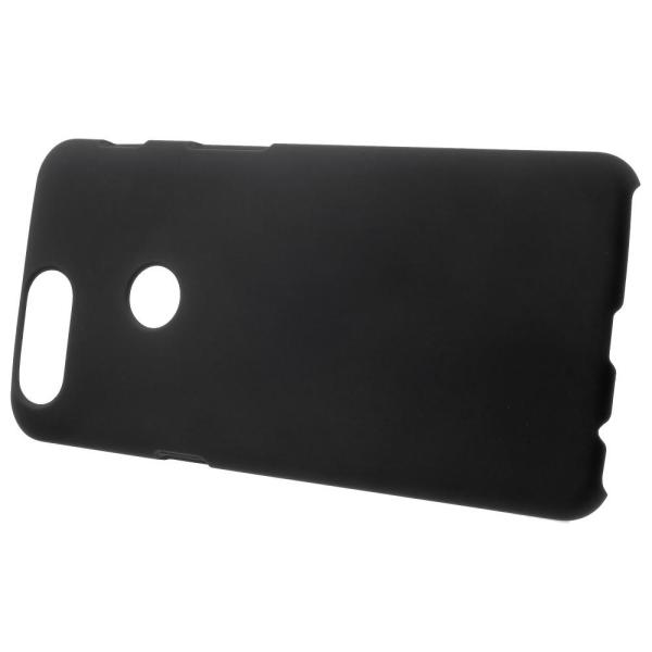 OnePlus 5T Skal Plastskal Rubberized - Svart Svart