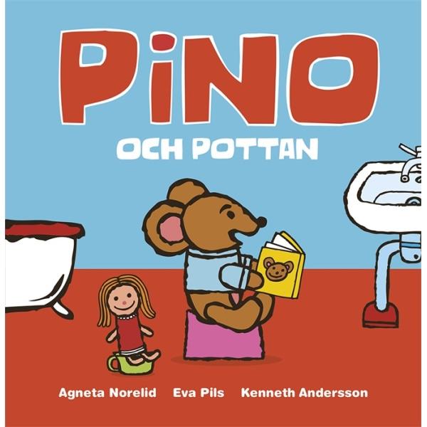Pino och Pottan - Bok inbunden 32 sidor multifärg