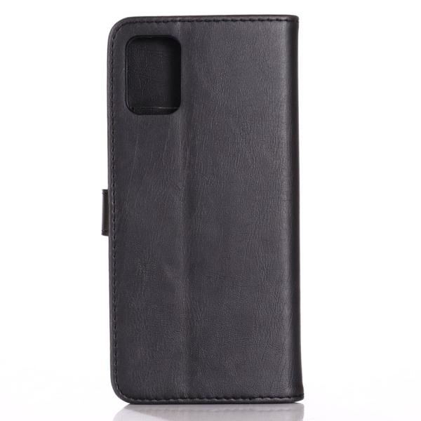 Samsung Galaxy A51 Retro Plånboksfodral - Svart Svart