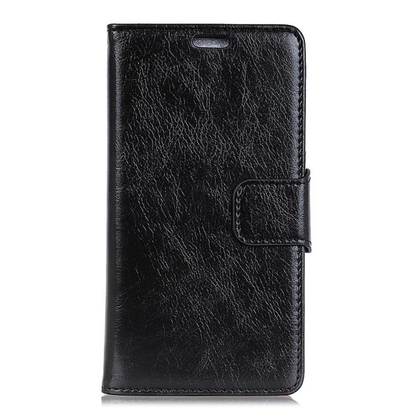 Samsung Galaxy A7 (2018) Plånboksfodral Textured Split - Svart Svart